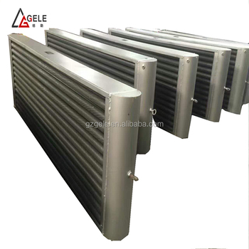 Industrial High Quality Screwed Steam To Air Cooling Heat Exchangers And  Radiators For Belt Drying Machines - Buy Screw Heat Exchangers For Belt