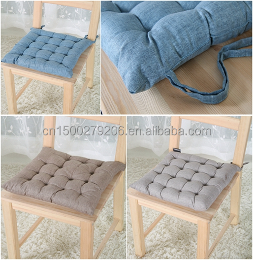Polyester home decor fashionable design cushion pillow, seat cushion