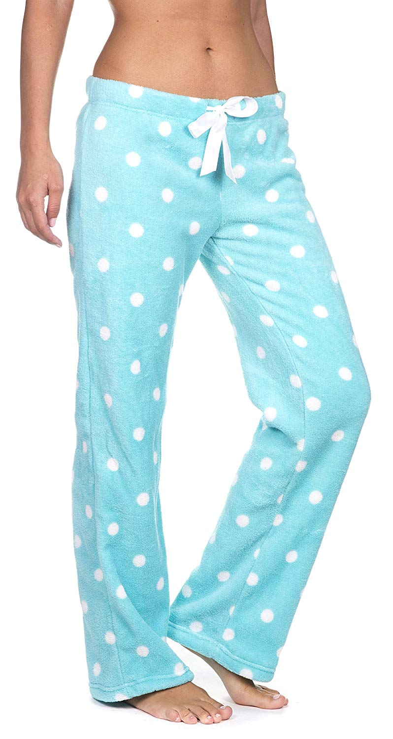 Get Quotations · Totally Pink Women s Warm and Cozy Plush Pajama Lounge  Pants 045ecaf8f
