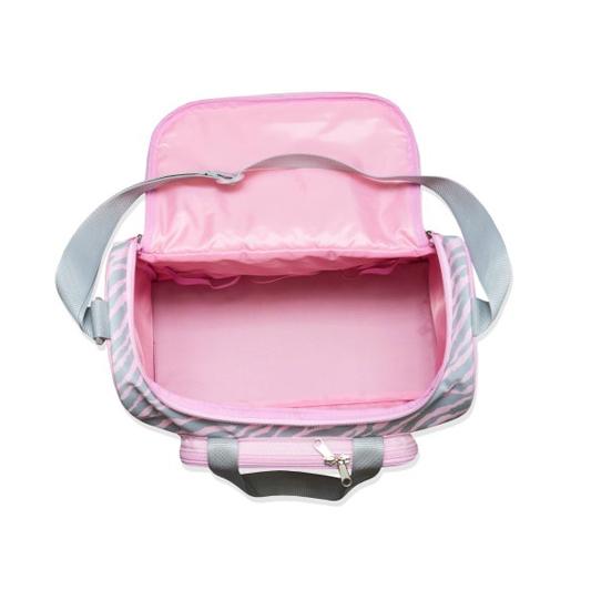 Hisprout Cloth Diaper Bag Large Capacity Waterproof Washable Reusable Diaper Wet Bag,Zebra