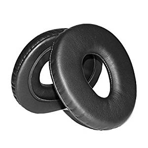 Foxnovo Replacement Soft Foam Ear Cushions Ear Pads for SONY MDR-CD1000 MDR-CD3000 Headphones - One Pair (Black)