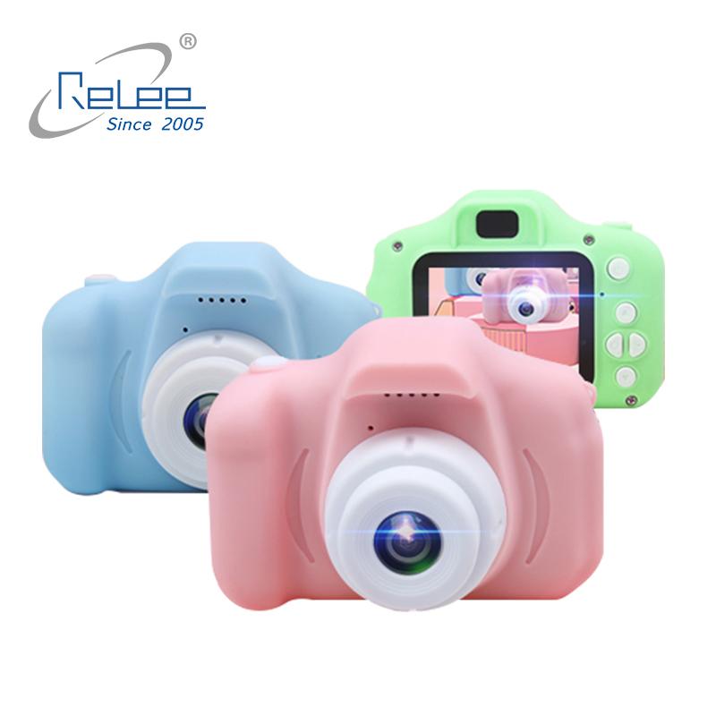 Wholesale HD 720P 2.0 inch  children camera toys child digital camera for kids