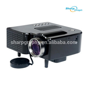 1080P Full HD ROHS Mini LED UC28+ Projector for Home Use