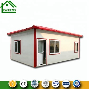 Hebei Baofeng manufacture nice price ready made cheap prefabricated house