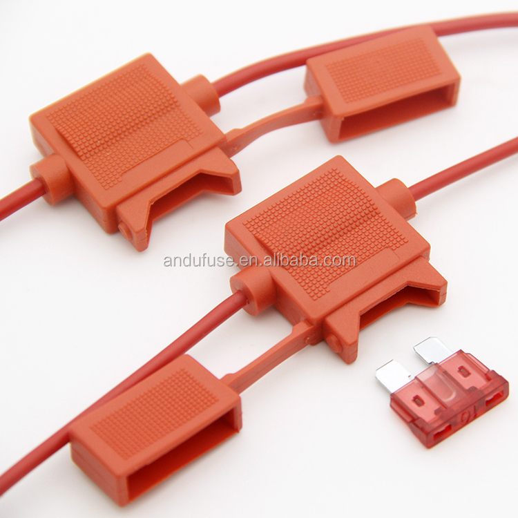 Andu brand ATC blade fuse type waterproof in line fuse holder