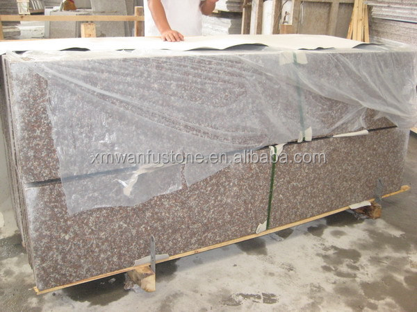 Chinese Cheap Peach Red G687 Granite Slabs/Tiles/Boarder