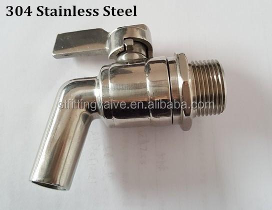 Stainless Steel Stock Pot Faucet,Metal Bibcock Faucet Spigot,Bibcock Tap -  Buy Mash Tun Faucet,Keg Faucet,Oil Tank Faucet Product on Alibaba com