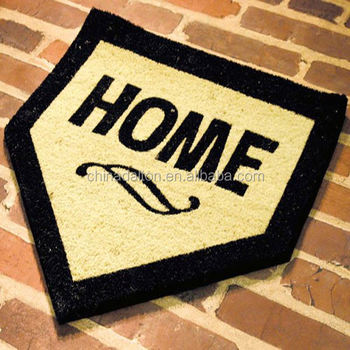 Baseball Mlb Home Plate Shape Coir Mat Buy Home Plate Shape Coir Matbaseball Coir Matsbaseball Mlb Home Plate Shape Coir Mat Product On