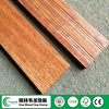 solid indoor Kempas hardwood parquet flooring
