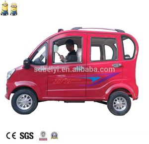 Cheap 4 wheel electric car /mobility cars with cabin/ adult electric vehicle