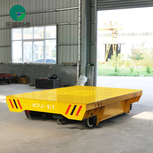 1-300 ton bay to bay cable drum powered electric transport wagon