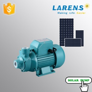 Larens dc solar water pump brush motor QB no need controller