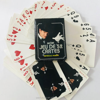 custom design cheap paper playing card