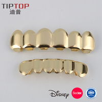Wholesale Cheap Body Jewelry Gold Silver Plated Teeth Grillz