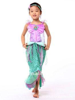 TZ-68862 mermaid costume for kids  sc 1 st  Alibaba & Tz-68862 Mermaid Costume For Kids - Buy Sexy Mermaid CostumeKids ...