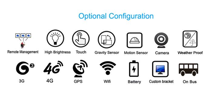 24 pulgadas touch android 5,1 os full hd 1080 p digital media player portátil lcd pantalla los anuncios de la red de señalización tv wifi usb barato