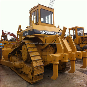 Used Caterpillar bulldozer, Japanese used bulldozer CAT D7 D7H D7G D7R  Bulldozer for sale