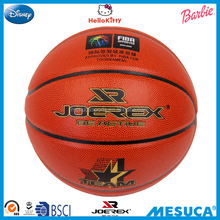 Mesuca 7# Basketball Synthetic Microfibre Pu Leather Durable Basketball BA9-1
