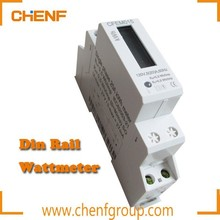 High Quality 1 Modular LCD Single Phase Din Rail Power Meter