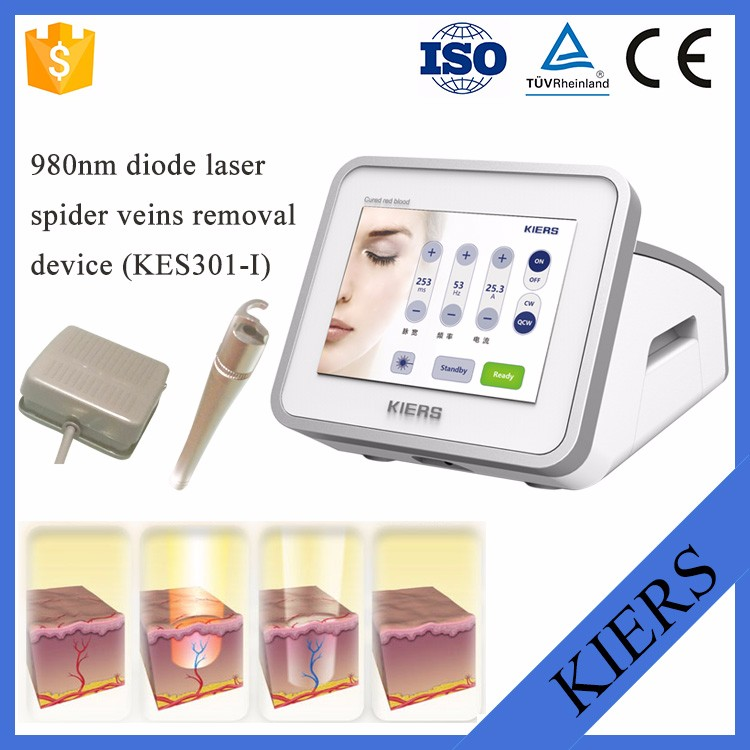 Chinese Best Result potable 980 spider vein removal machine / 980nm diode laser / 980nm diode laser vascular removal