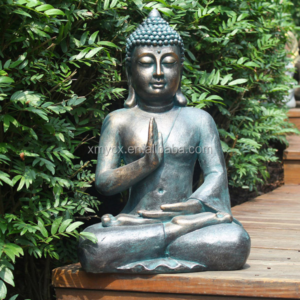 resin large buddha garden statue for sale buy large buddha garden statue large buddha statues. Black Bedroom Furniture Sets. Home Design Ideas