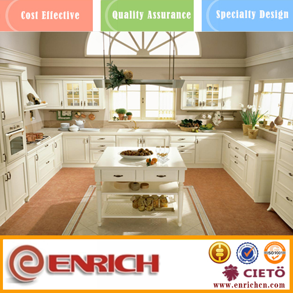 Enrich Trade Asurance commercial fireproof kitchen cabinet design