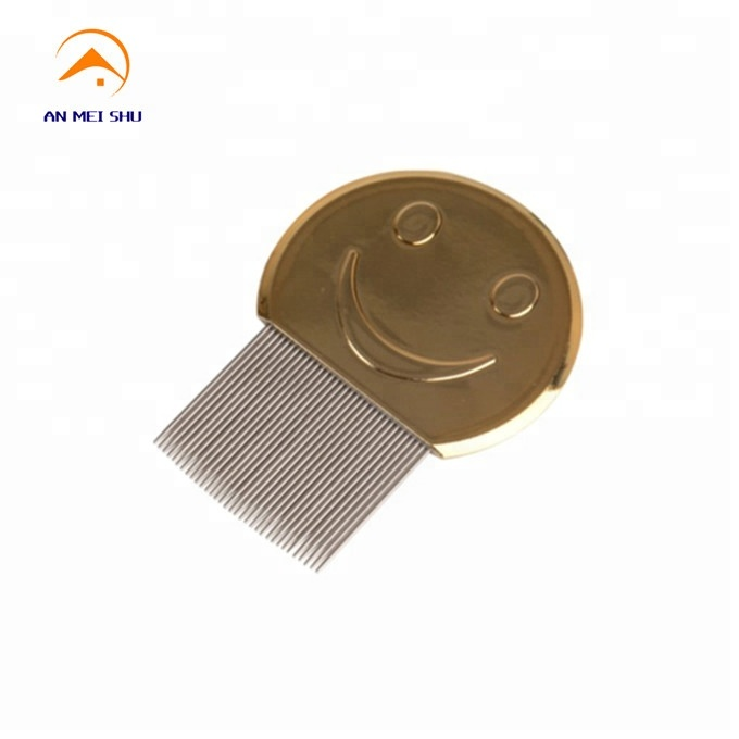 Stainless <strong>steel</strong> Metal thin <strong>hair</strong> Lice <strong>Comb</strong> for Nit Free Kids <strong>Hair</strong> Rid Head lice <strong>comb</strong>