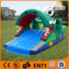 top quality adult green dragon water slide inflatable with wholesale price