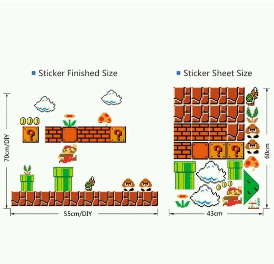 Cheap Super Mario Wall Decal, find Super Mario Wall Decal deals on