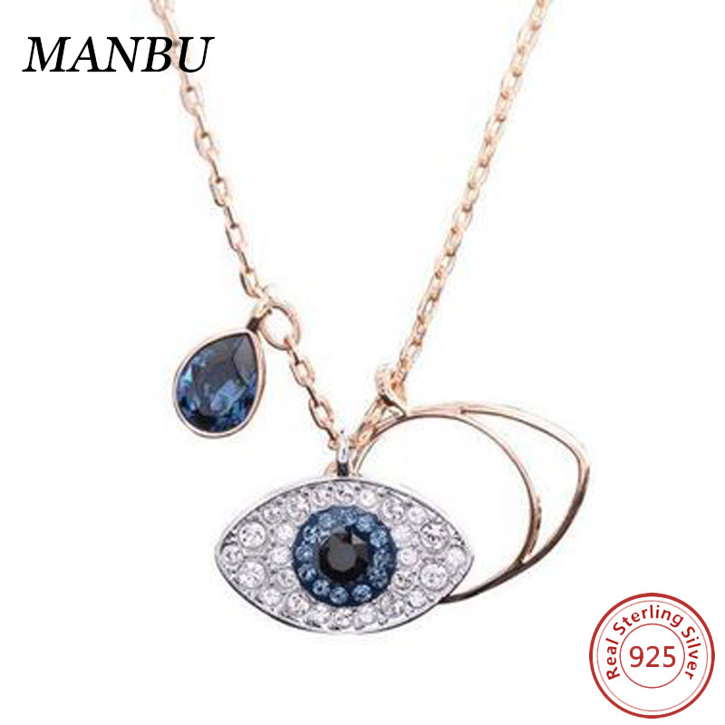 evil eye necklace dropship 925 fashion jewellery D270