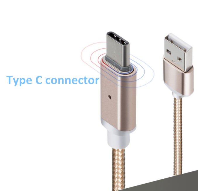 Magnetic Type C Cable Charging Magnetic Cable For Android 3 In 1 Magnetic 8 Pin Charging Cable