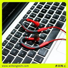 promotional fancy colors high sensitivity headphone sport wired headphone for high quality