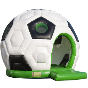 inflatable bouncy Commercial Soccer Football Inflatable Bouncer