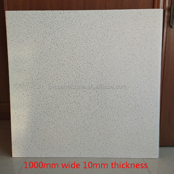 UK market 1000mm wide white sparkle pvc cladding shower wall panel