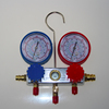 HBS HVAC R410a Manifold gauge air pressure gauge and 100v/60hz vacuum pump kit