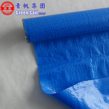 100gsm 0.1mm HDPE Tarpaulin Fabric Material with Double Side LDPE Laminated for Covering Tarp and Package