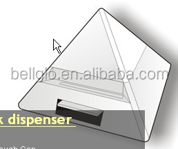 pyramid toothpick dispenser