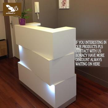 Hot Modern Salon White Reception Desk