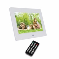 Wholesale 7 inch frame digital photo white