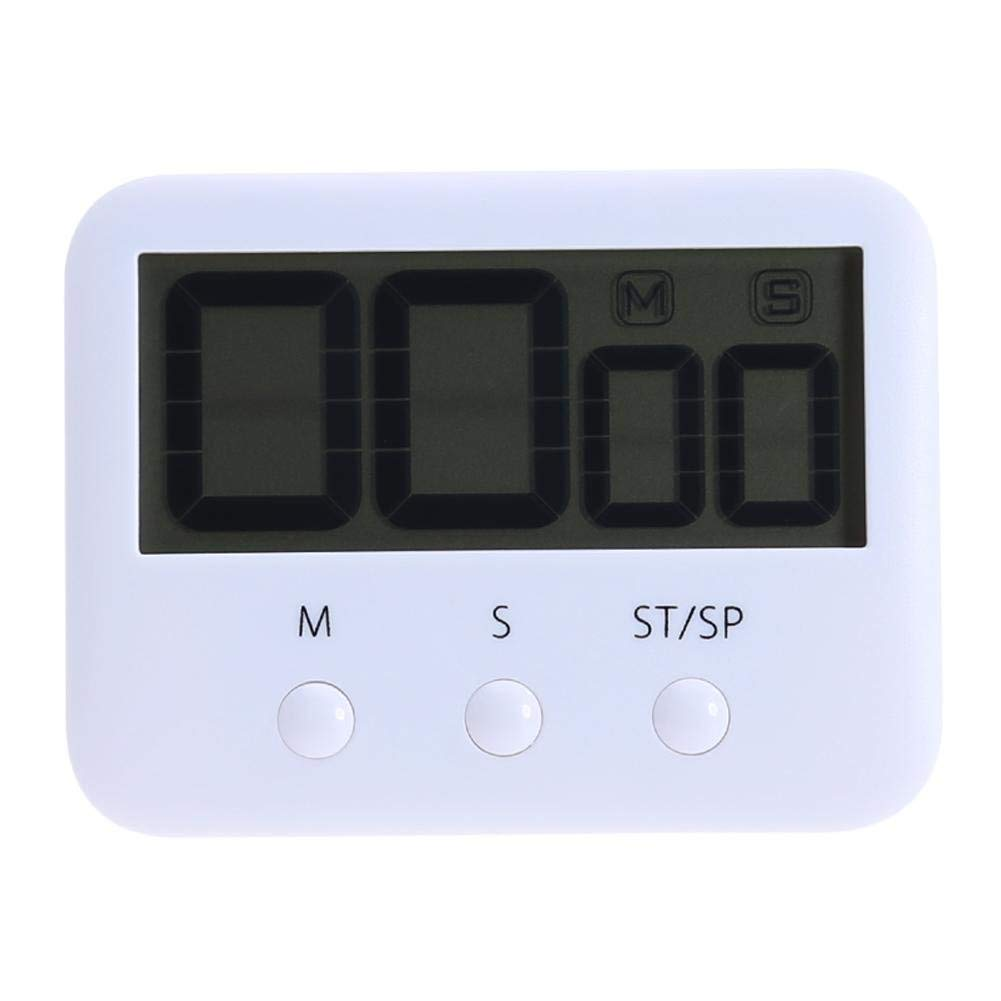 UNIhappy Pocket Digital Large LCD Screen Countdown Timer Clock Alarm for Kitchen