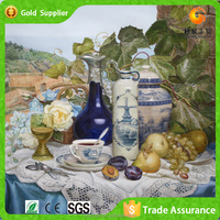 Wholesale 5D Diamond Mosaic Still Life Oil Painting For Wall Decor