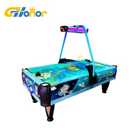 Air Hockey Arcade Table Pool Air Hockey Table Game Machine Coin Air Hockey Table With Led Light for Adult