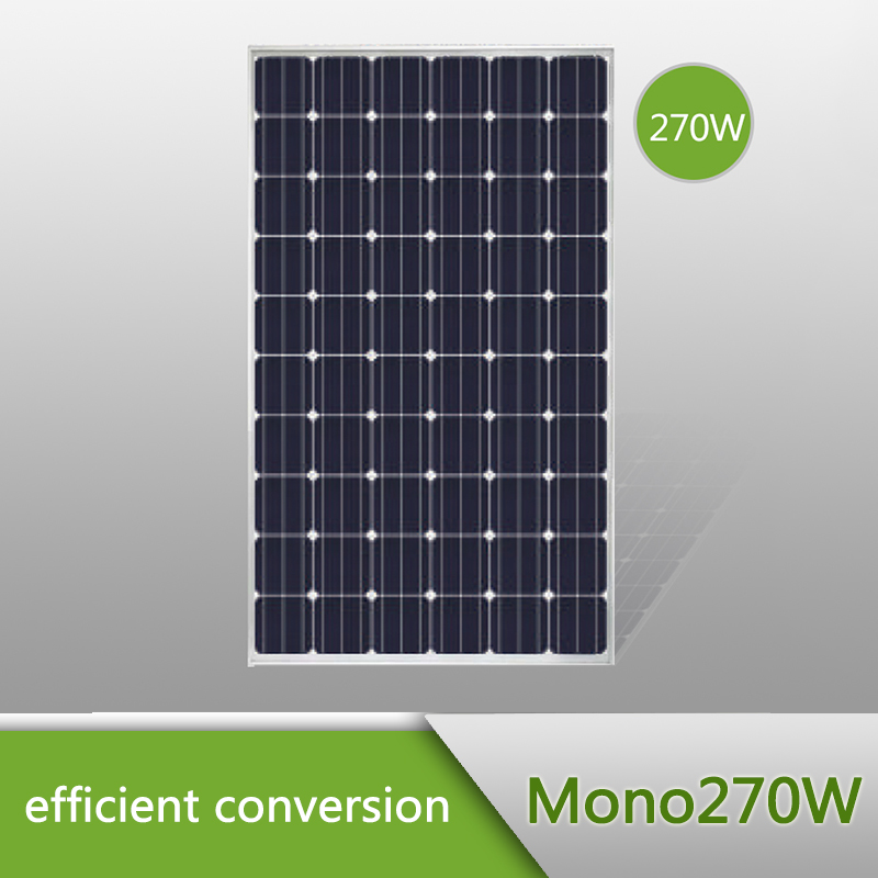 High quality mono solar panel, mono solar modules 270W