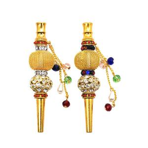 beautiful handwork hookah accessories disposable mouth tips diamond cigarette filter