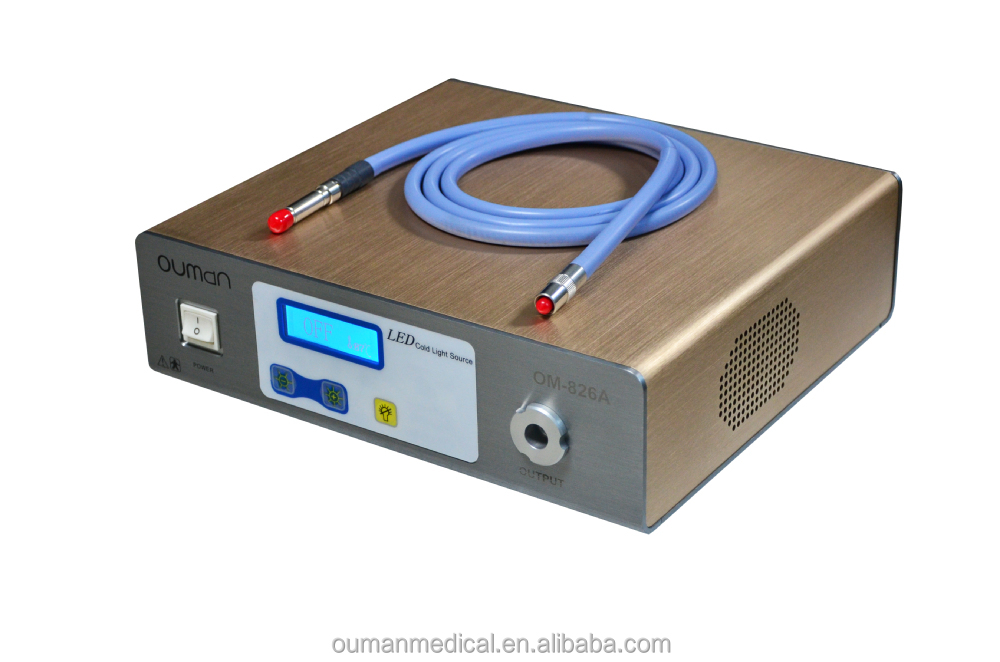 100W medical light source for ENT, hysteroscopy, laparoscopy, arthroscopy