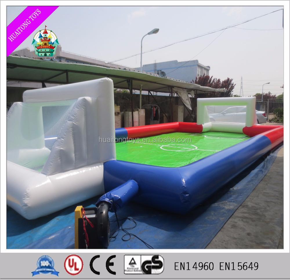 inflatable soap soccer field inflatable soap soccer field