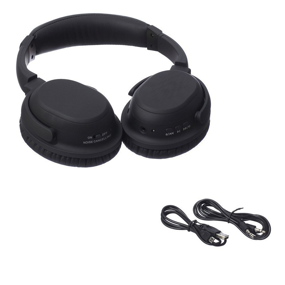 Free Sample dre over ear bluetooth headphone and wireless earphone active noise cancelling headphones with mic