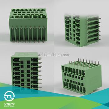 Electrical Pcb Screw Terminal Blocks Connector Plug-in Pcb ...