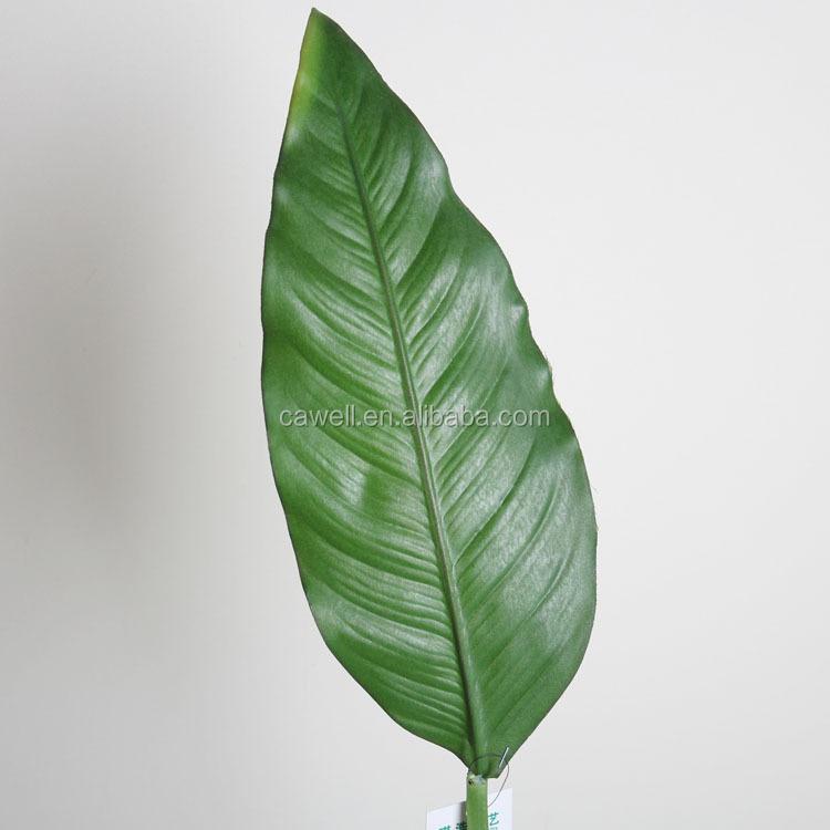Wholesale real touch decor artificial banana leaf buy for Artificial banana leaves decoration