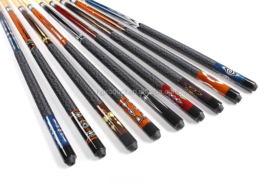 Wholesale Manufacturer billiard house pool cue 1/2 jointed snooker ...